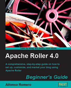 Roller book cover
