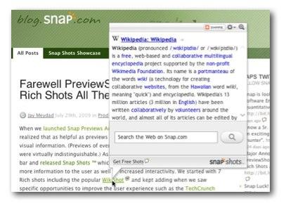 Snap.com preview