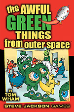 Cover of Awful Green Things from Outer Space