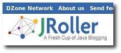 screenshot of new JRoller.com on Roller 3.1